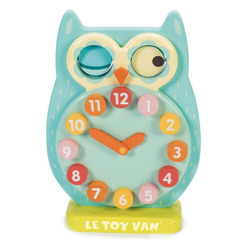 Blink Owl Clock - souzu.co.uk