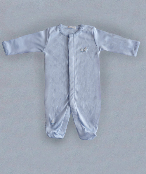 Blue Toy Ducks Babygrow - souzu.co.uk