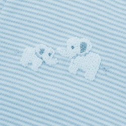 Blue Elephant & Giraffe Babygrow - souzu.co.uk