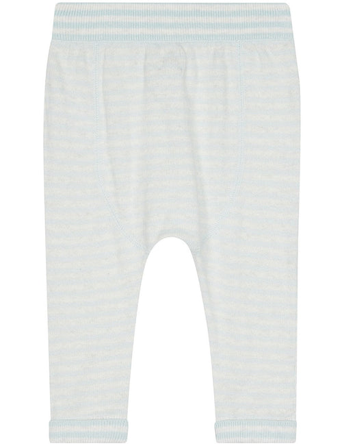 Blue Striped Mix Pants - souzu.co.uk