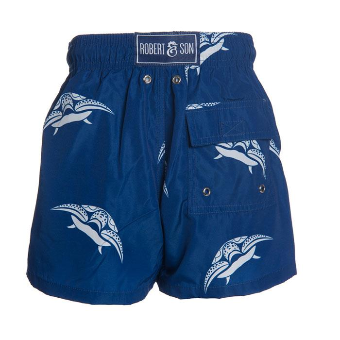 Father & Son Blue Turtle Swim Shorts - souzu.co.uk
