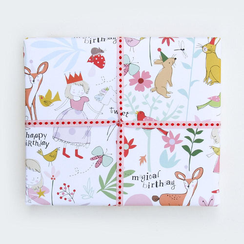 Woodland Animal Gift Wrapping - Caroline Gardner