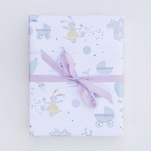 New Baby Gift Wrapping - Caroline Gardner - souzu.co.uk