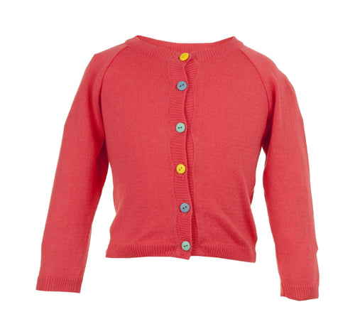 Raspberry Cardigan - souzu.co.uk