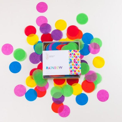 Rainbow Confetti - souzu.co.uk