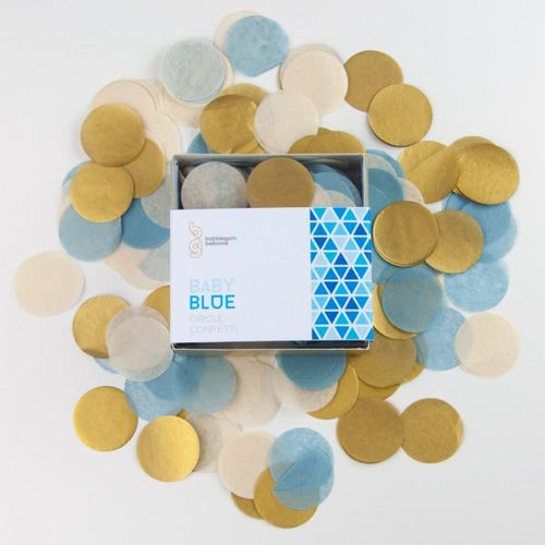 Baby Blue Confetti - souzu.co.uk