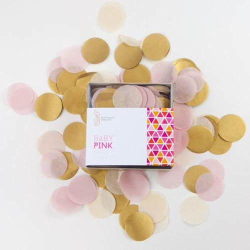 Baby Pink Confetti - souzu.co.uk
