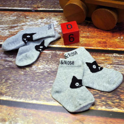 Crazy Cat Socks - 2 pack - souzu.co.uk