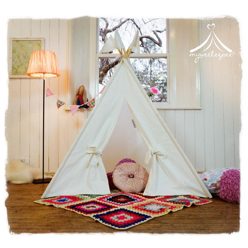 Classic Cream Teepee - souzu.co.uk