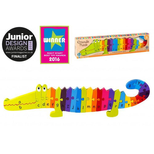 Alphabet Crocodile Puzzle - souzu.co.uk