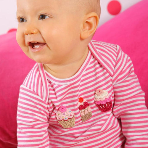 Cupcake Babygrow - souzu.co.uk