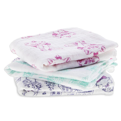 The Aristocats - Muslins pack of 3
