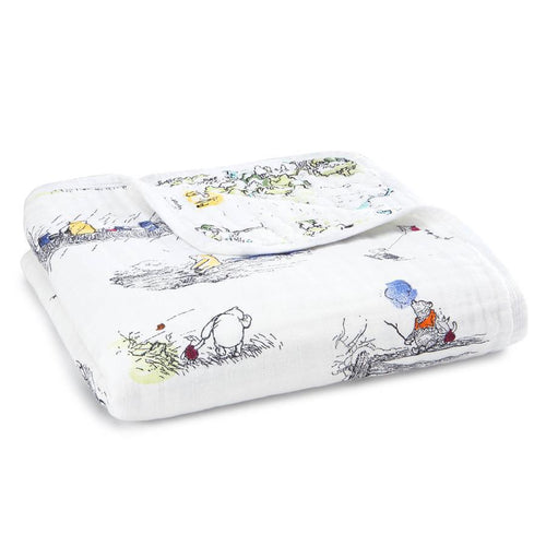 Winnie The Pooh Disney Baby Dream Blanket - souzu.co.uk