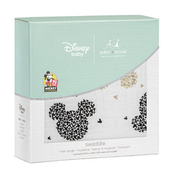 Mickey Mouse 90th Celebration Single Swaddle - souzu.co.uk