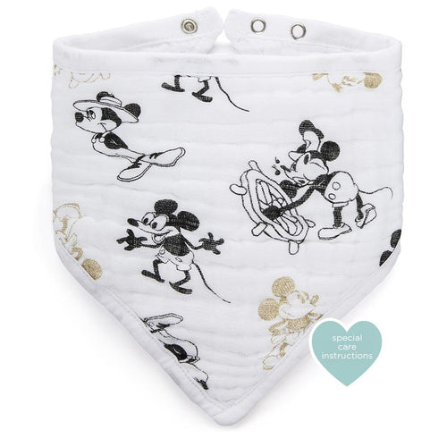 Mickey's 90th  Disney Classic Bandana Bib - souzu.co.uk
