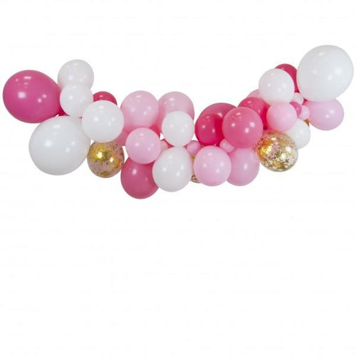 DIY Baby Pink Garlands - souzu.co.uk
