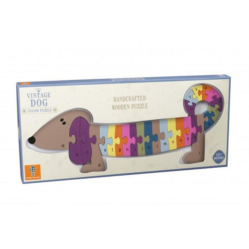 Alphabet Dog Puzzle - souzu.co.uk
