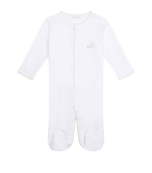 White Toy Ducks Babygrow - souzu.co.uk
