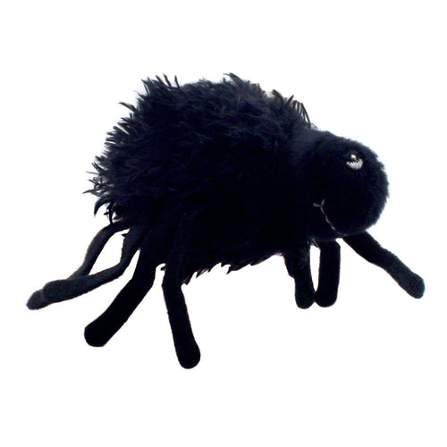Spider Furry Finger Puppet - souzu.co.uk