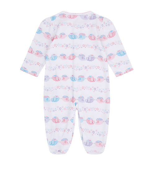 Eloquent Elephant Babygrow - souzu.co.uk