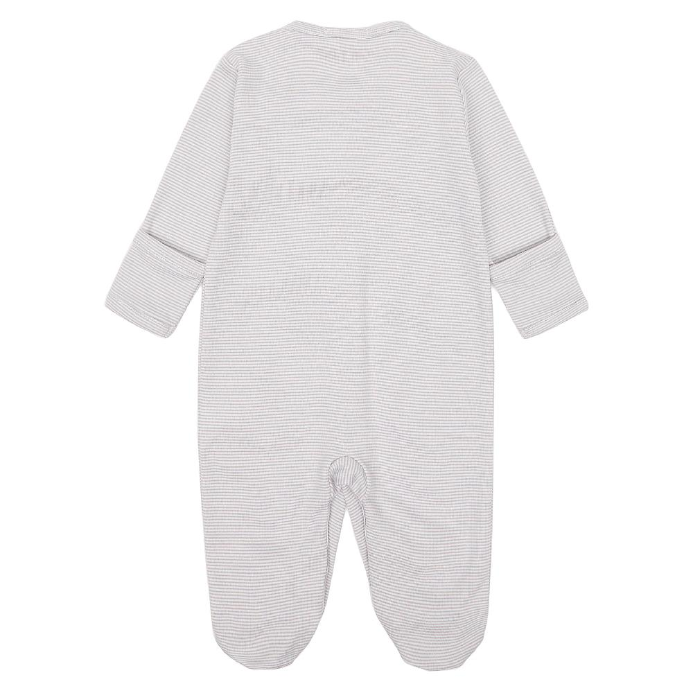 Grey Two by Two Babygrow
