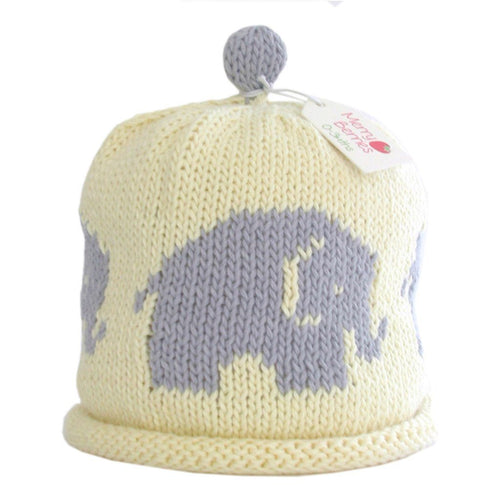 Grey Elephant Hat - souzu.co.uk