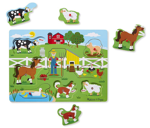 Old McDonalds's Farm Sound Puzzle - souzu.co.uk
