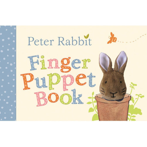 Peter Rabbit Finger Puppet Book - souzu.co.uk