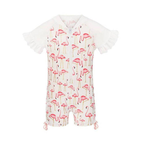 Flamingo Sunsuit - souzu.co.uk