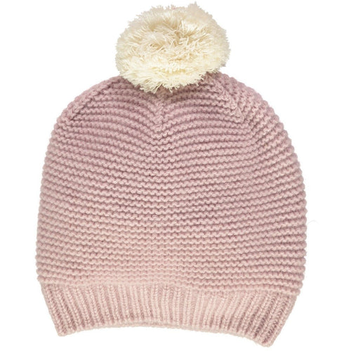 Dusty Rose Cashmere Hat - souzu.co.uk