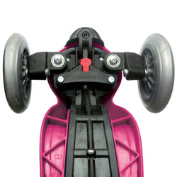 Deep Pink 5 in 1 Scooter with Lights - souzu.co.uk