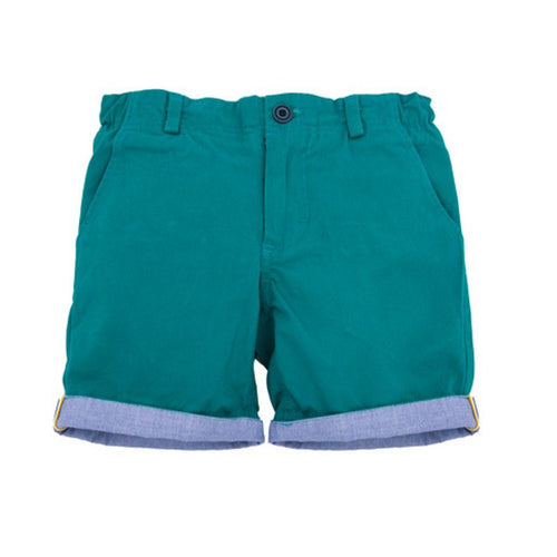 Buster Green Shorts - souzu.co.uk