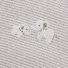 Grey Elephant & Giraffe Babygrow - souzu.co.uk