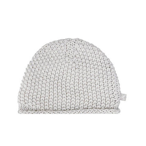 Grey Bobble Stitch Hat