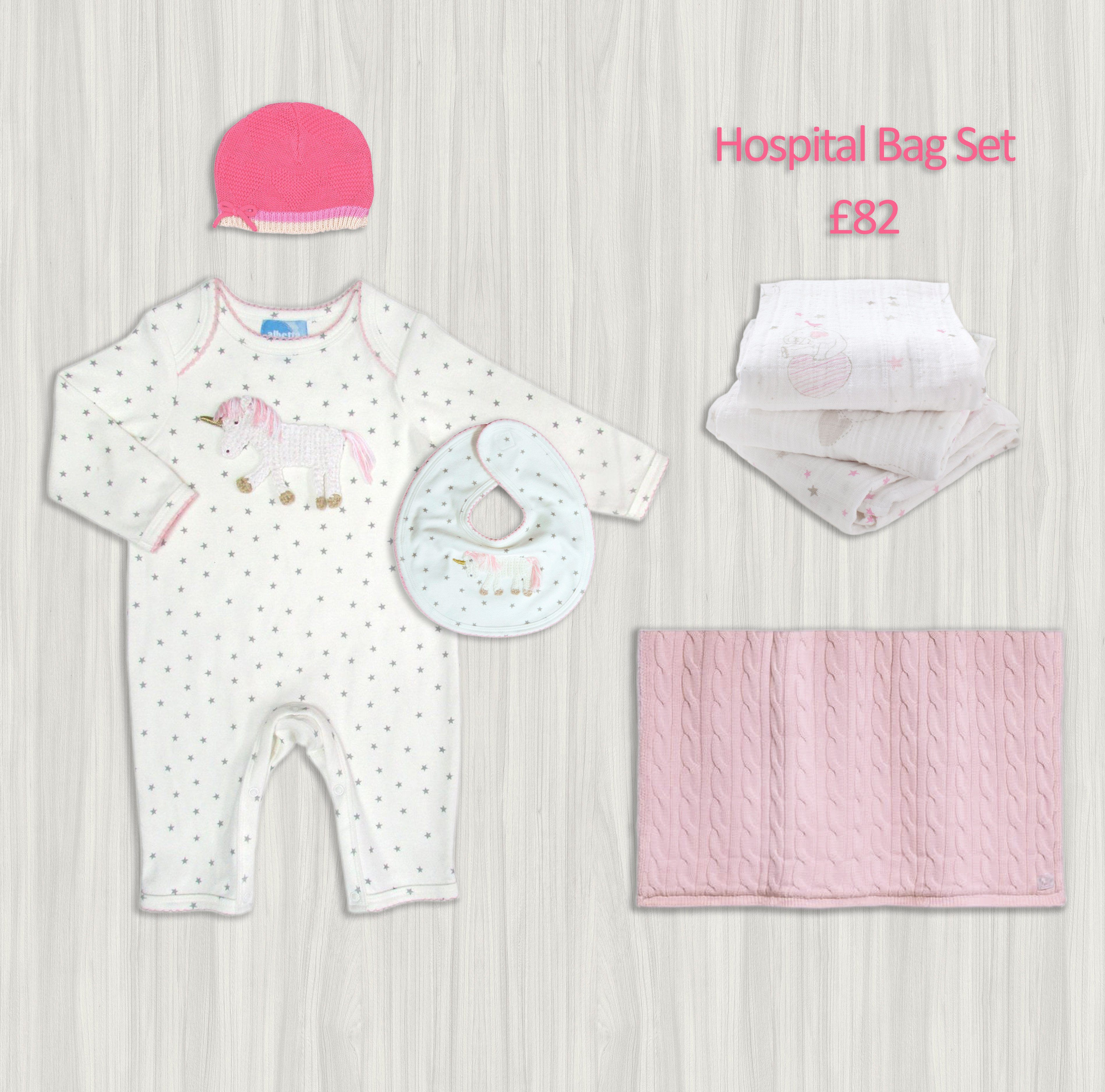 Girl Hospital Bag Set - souzu.co.uk