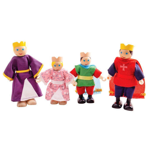 Royal Family Doll Set