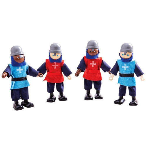Medieval Knights Doll Set