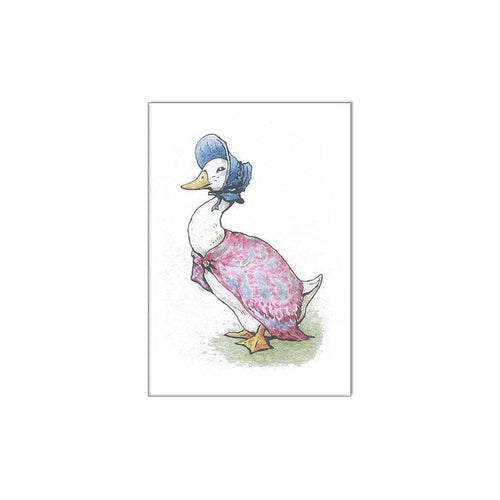 Jemima Puddle Duck Mini Card - souzu.co.uk