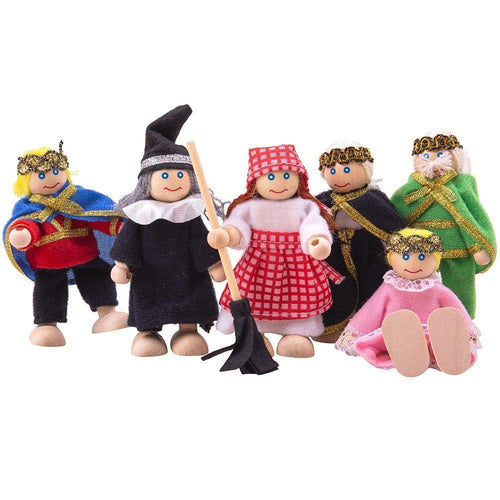 Fairy Tale Dolls Set - souzu.co.uk