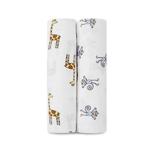 Jungle Jam Swaddles - souzu.co.uk