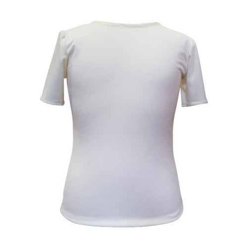 Short Sleeved Dainty Top - souzu.co.uk