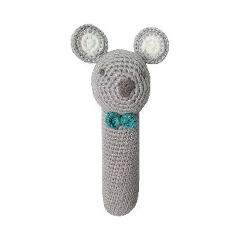 Crochet Koala Stick Rattle - souzu.co.uk
