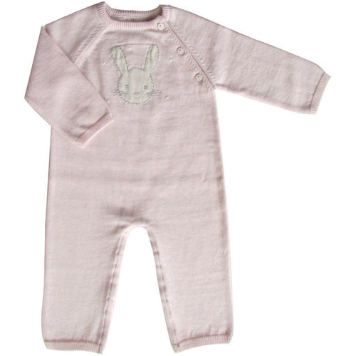 Bunny Knit Babygrow - souzu.co.uk