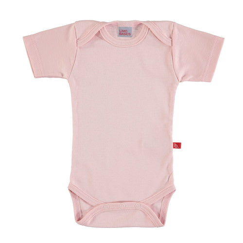 Pink Short Sleeved Bodysuit