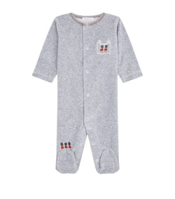 Velour London Guard Babygrow - souzu.co.uk