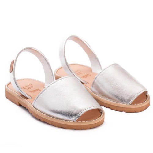 Silver Sandals - souzu.co.uk