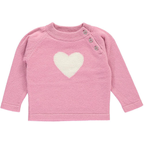 Rose Heart Jumper - souzu.co.uk