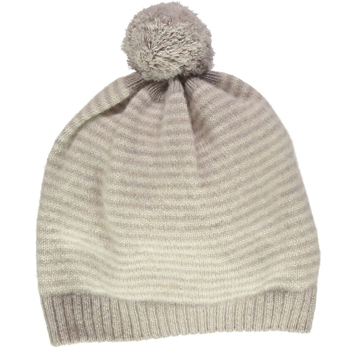 Olivier Baby   Kids Mushroom with Cream Cashmere Stripe Hat  6682a235b3e