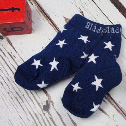 Navy and White Socks - Pack of 2 - souzu.co.uk