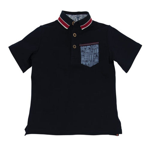 Navy Polo - souzu.co.uk